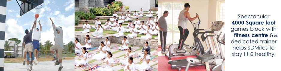 Sports Yoga and Gym Facilities